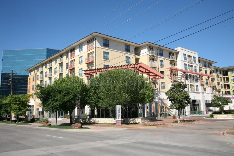 The Village on the Parkway, Dallas Texas stock image
