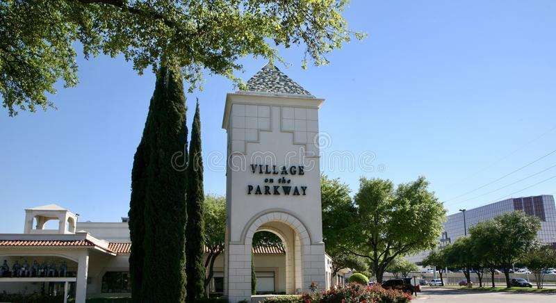 Village on the Parkway stock photos
