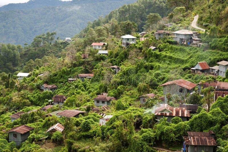 Village - Philippines photographie stock libre de droits