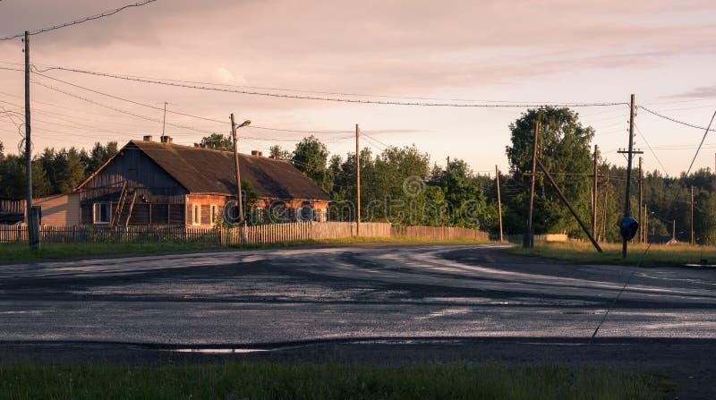 The village royalty free stock photo