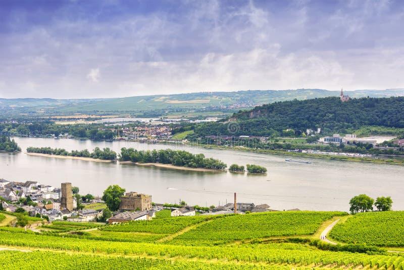 Village of Rudesheim, Germany stock photo