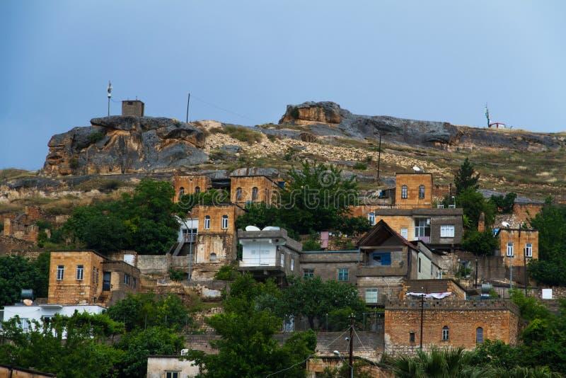 Village submergé Savasan dans Halfeti photos libres de droits