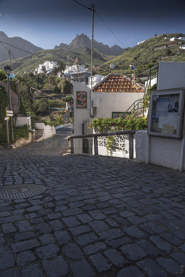 Village Ténérife de Taganana images libres de droits