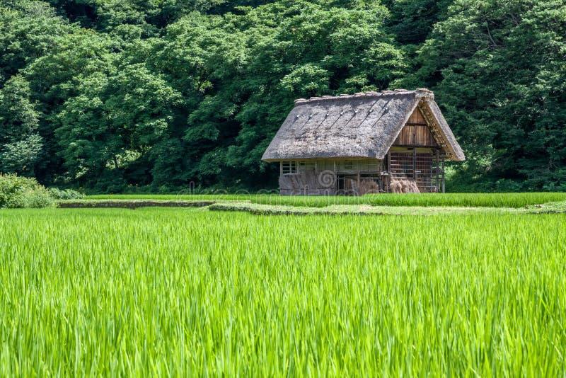 Village traditionnel au Japon photographie stock
