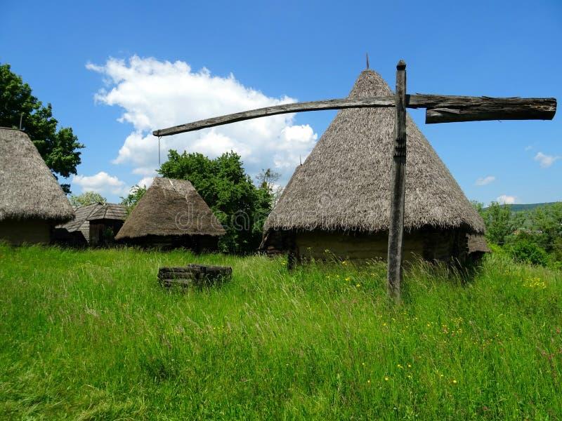 Village of transylvania royalty free stock photo