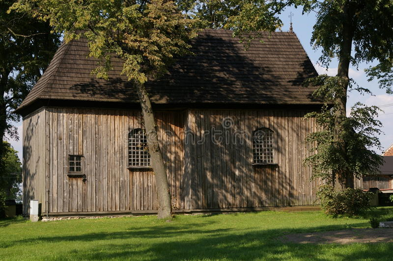 Download The Village Tum Wooden Church, Polish Summer Stock Photo - Image: 83700702