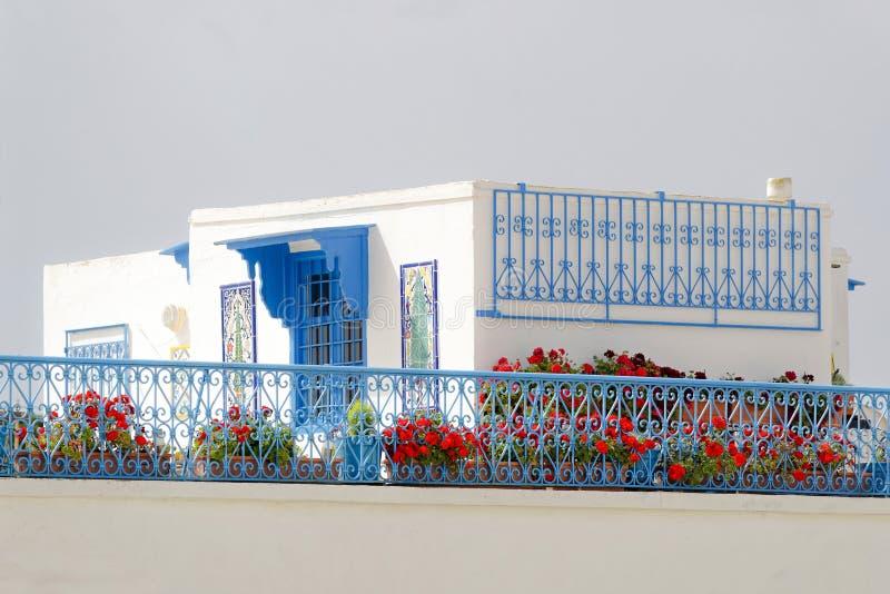 Village in Tunisia stock images