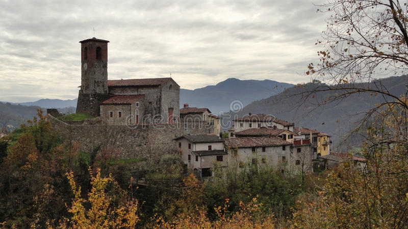 Village of Tuscany royalty free stock photography