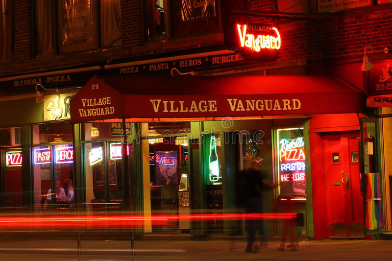Village Vanguard stock images