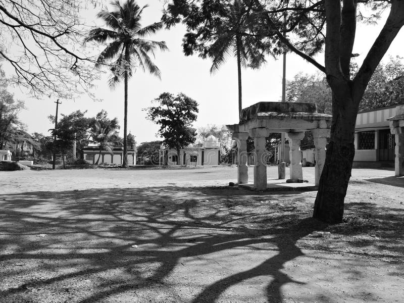 Village vide photographie stock