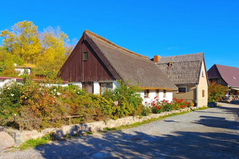 Village Vitt near Kap Arkona, Ruegen Island in Germany royalty free stock photography