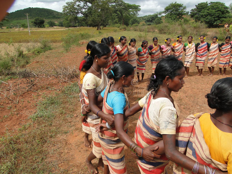 Download Village Women Form A Circle Editorial Photography - Image: 15966952
