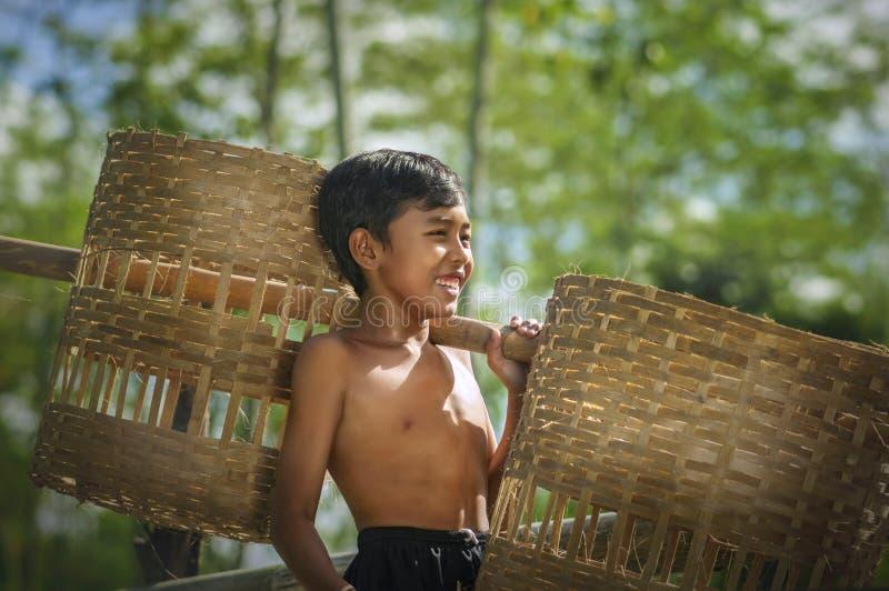 Villageois d'enfant de Blitarian image stock