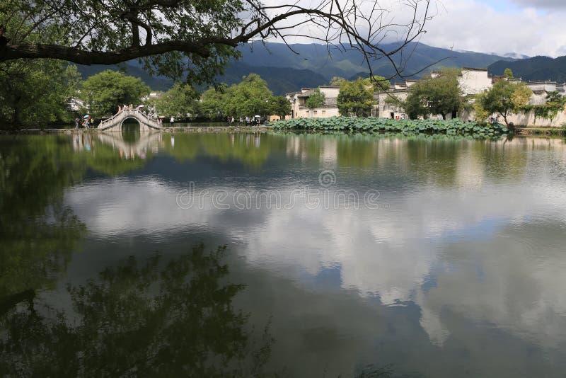 Villages antiques dans Anhui du sud, Chine photo libre de droits
