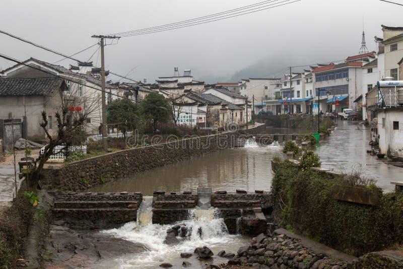Villages antiques dans Zhejiang, Chine image libre de droits
