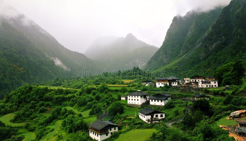 Villages de Yu-Beng images stock