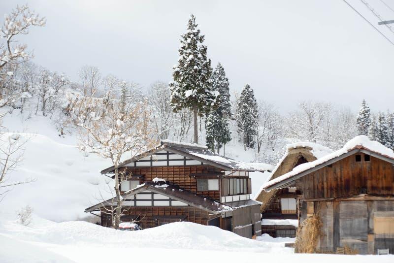 Villages historiques de  et de Gokayama de Shirakawa-gÅ photo stock