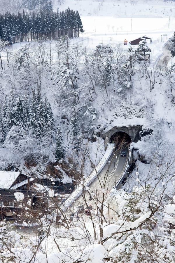 Villages historiques de  et de Gokayama de Shirakawa-gÅ image stock