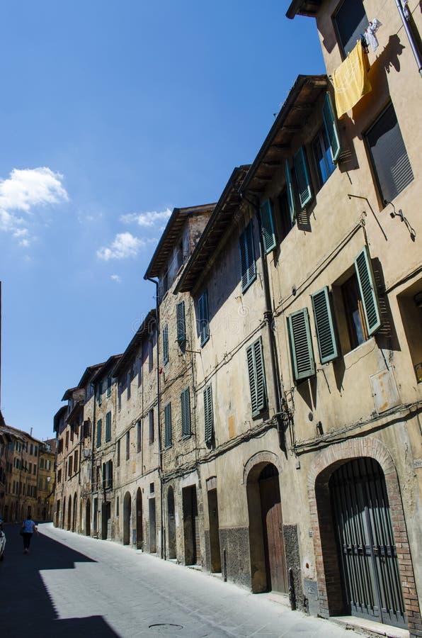 Villages médiévaux Italie de rues images libres de droits