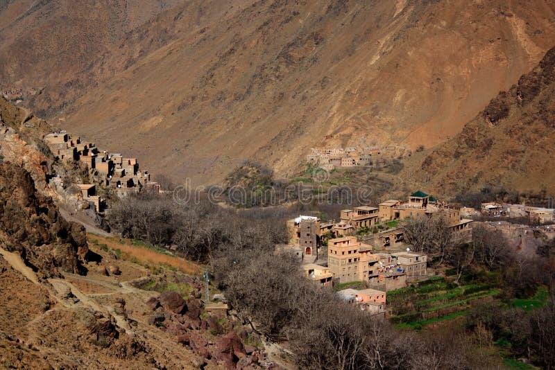 Villaggi 1 di Berber fotografia stock libera da diritti