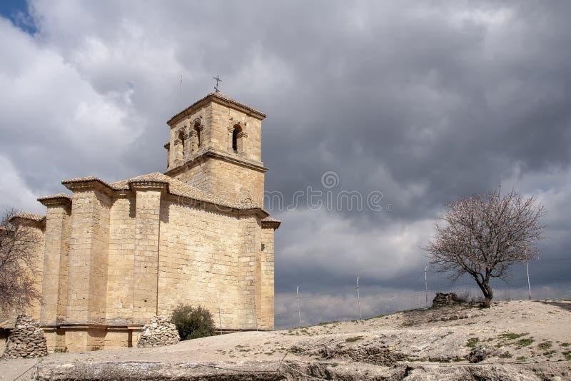 Villaggi dell'Andalusia, Montefrio nella provincia di Granada fotografia stock