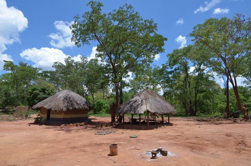 Villaggio africano fotografia stock libera da diritti