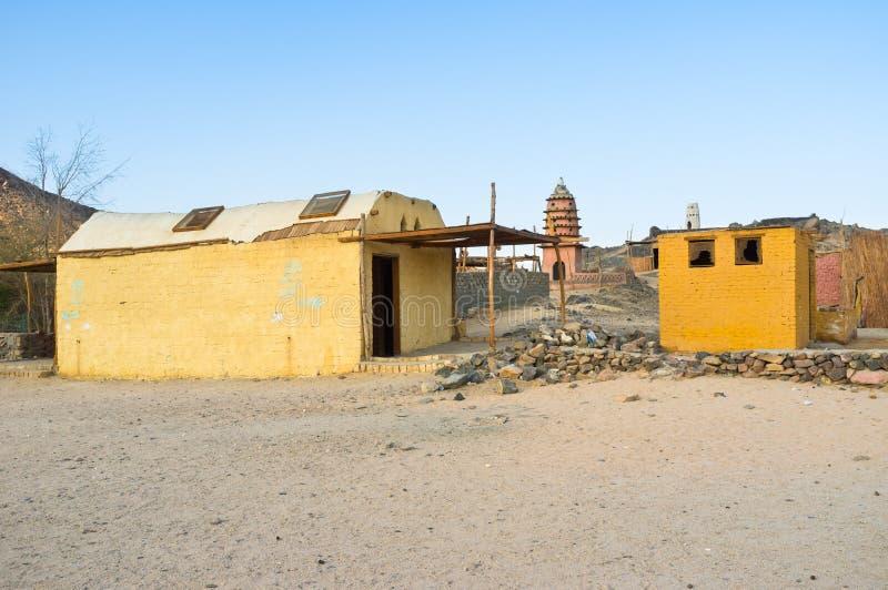 In villaggio africano immagine stock libera da diritti