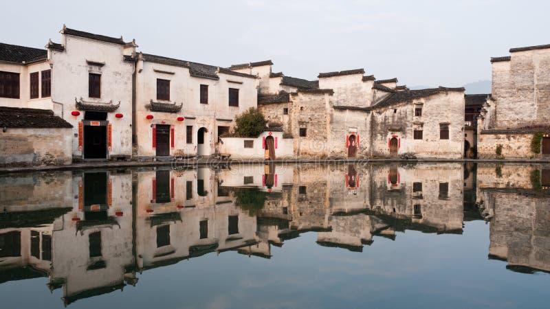 Villaggio antico in Cina immagine stock libera da diritti