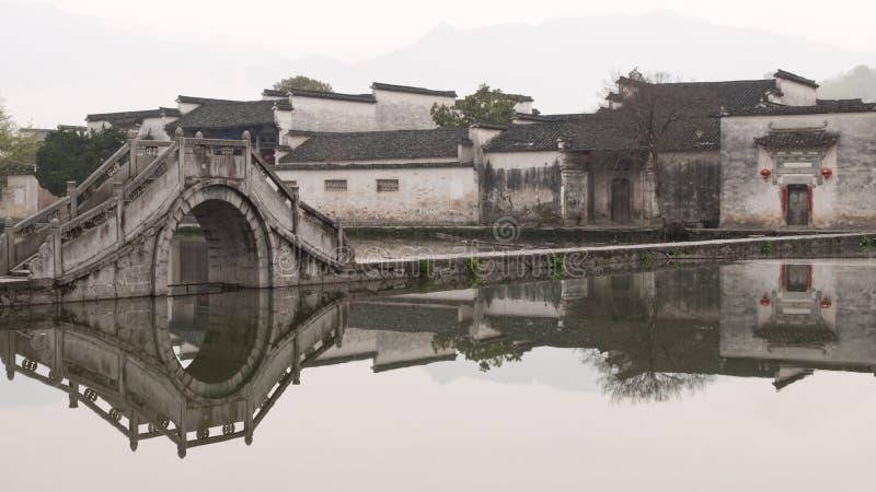 Villaggio antico in Cina immagini stock