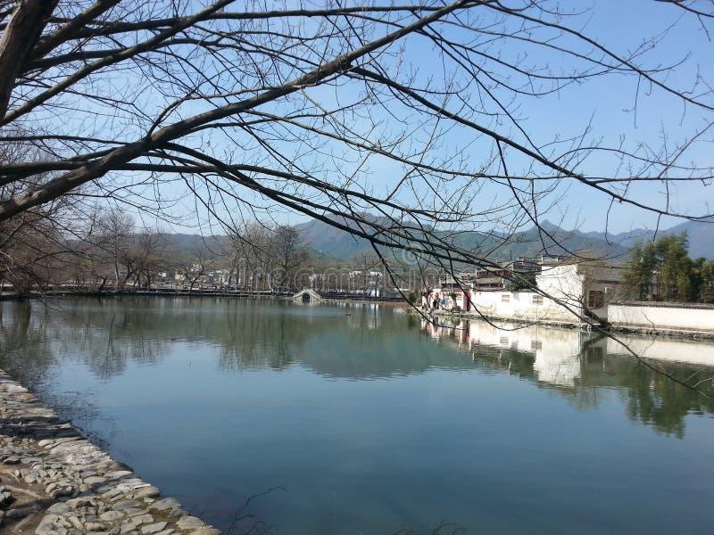 Villaggio antico in Cina fotografia stock