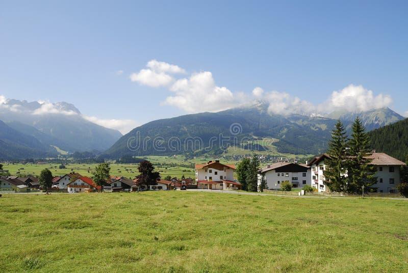 Villaggio in Austria fotografia stock libera da diritti