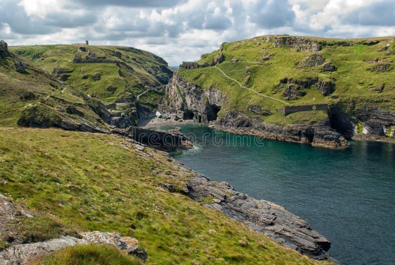 Villaggio celtico fotografie stock