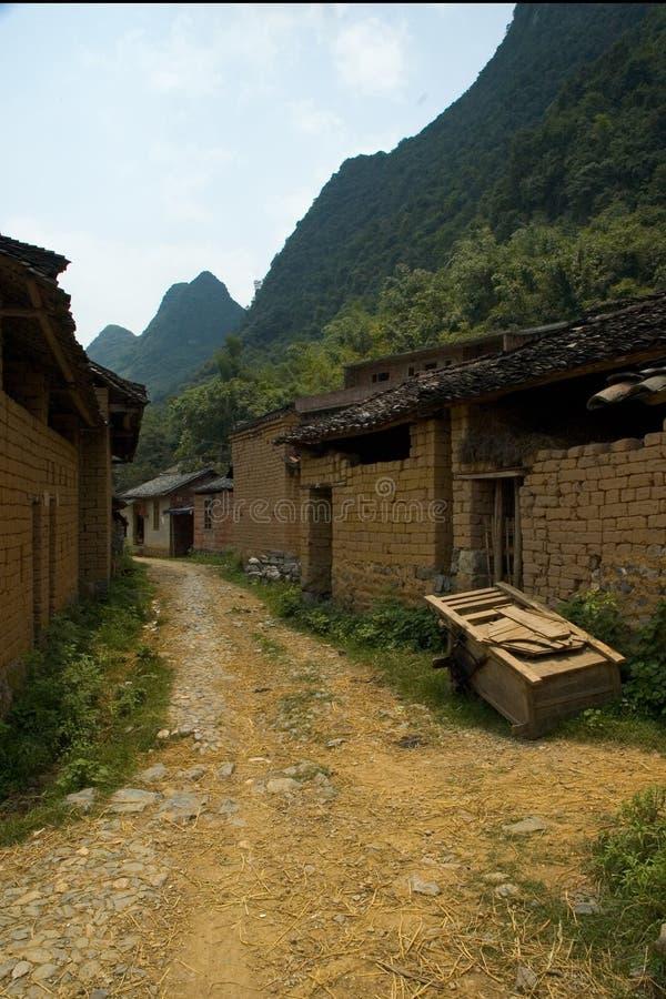 Download Villaggio cinese fotografia stock. Immagine di riso, waterway - 207244