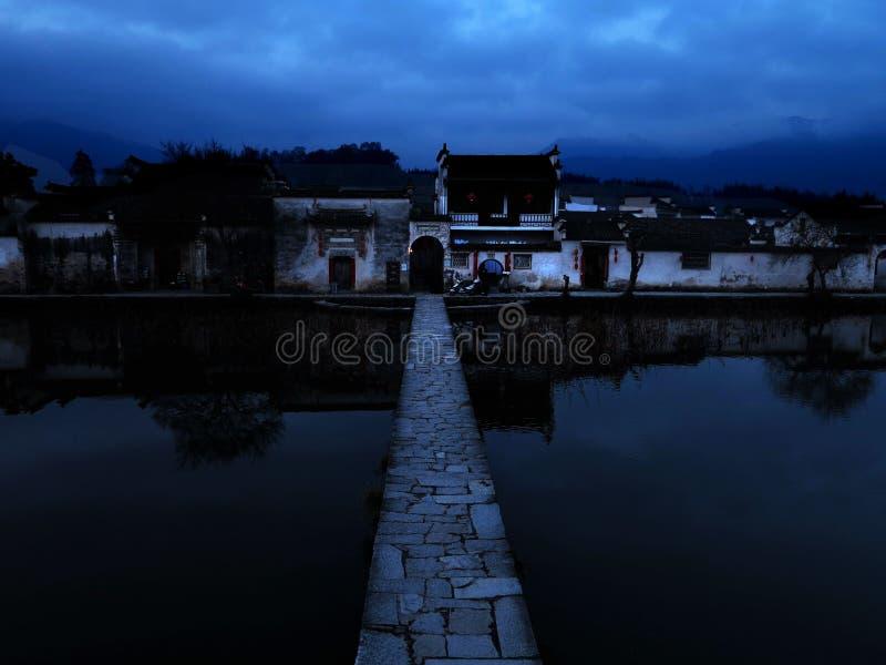 Villaggio cinese immagini stock libere da diritti