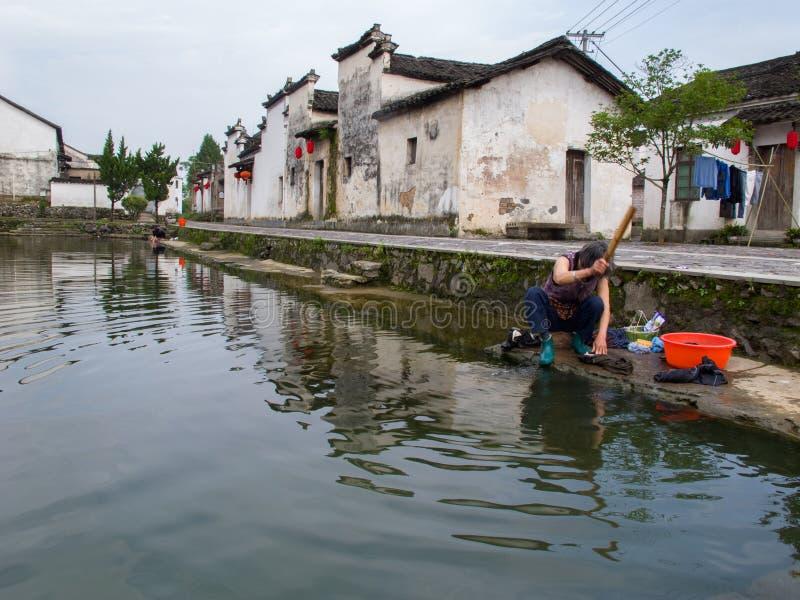 Villaggio cinese antico in sud della Cina, Changle immagini stock