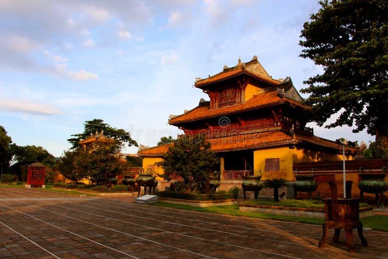 Villaggio degli imperatori, portone di tonalità fotografia stock