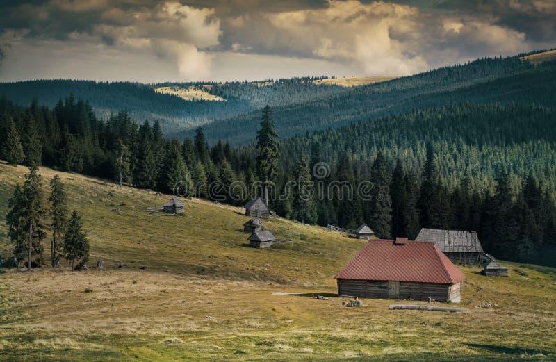 Villaggio dei pastori fotografia stock libera da diritti