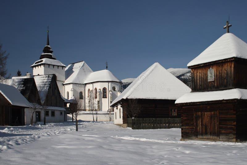 Villaggio del villaggio II. di vecchio fotografia stock libera da diritti