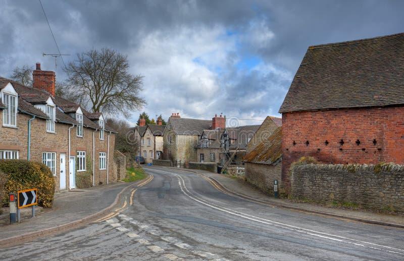 Villaggio dello Shropshire fotografia stock