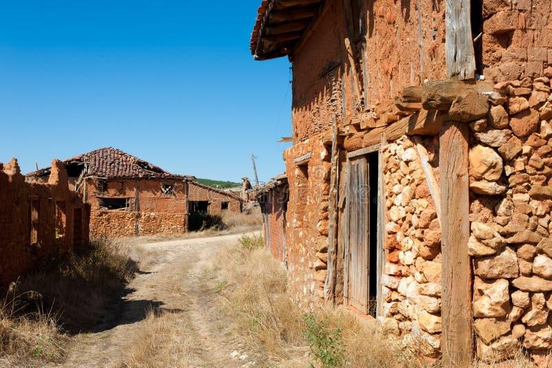 Villaggio Depopulated fotografie stock libere da diritti