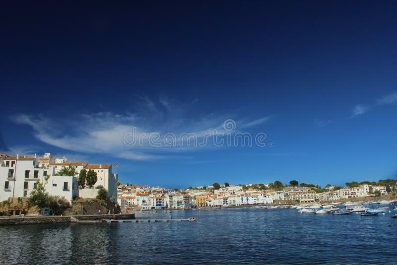 Villaggio di Cadaqués fotografia stock