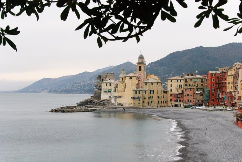 Download Villaggio di Camogli stock photo. Image of tourism, beach - 32232006