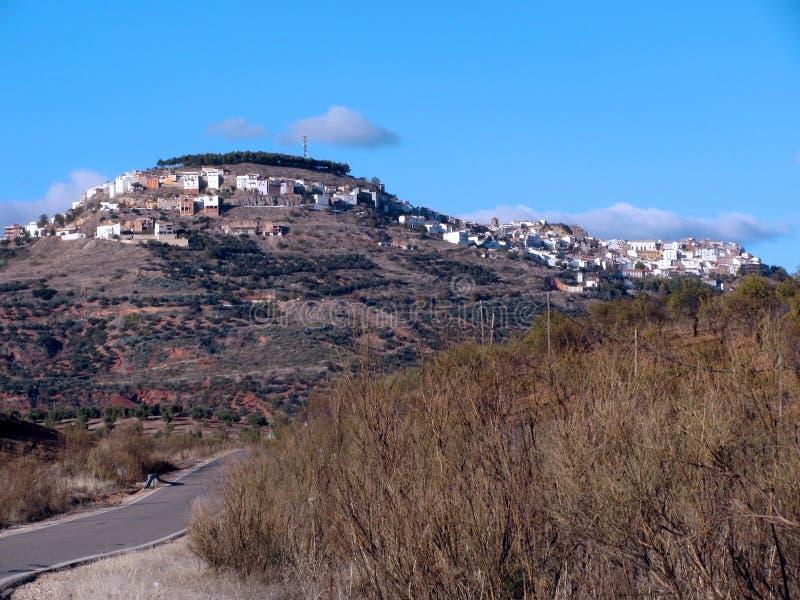 Villaggio di Chiclana de Segura a Jaen immagine stock libera da diritti