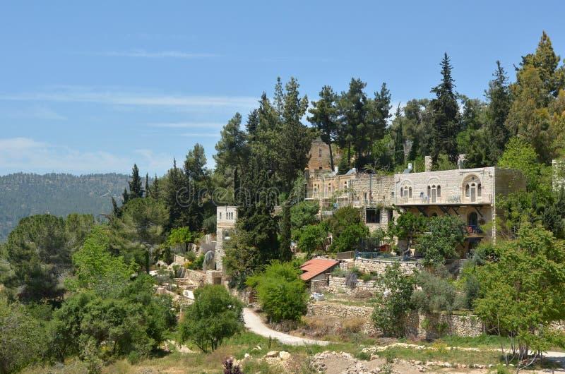Download Villaggio Di Ein Kerem A Gerusalemme - Israele Immagine Stock - Immagine di destinazione, globale: 55363821