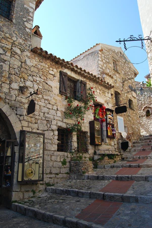 Villaggio di Eze immagine stock