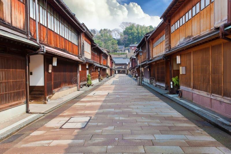 Villaggio di Keisha a Kanazawa immagine stock