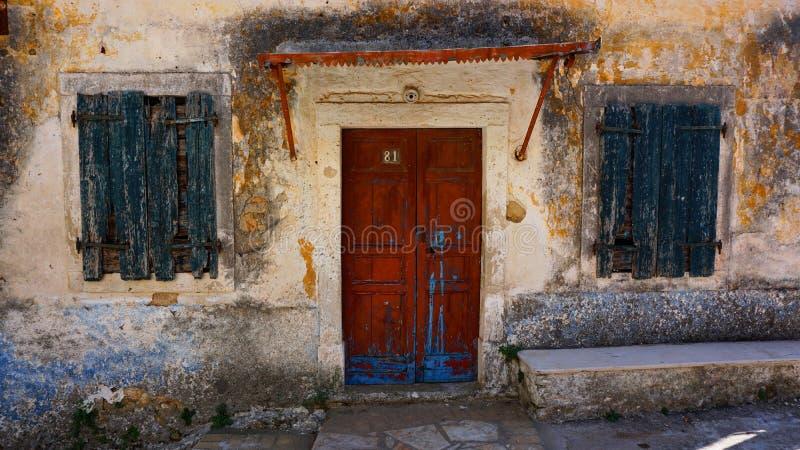 Villaggio di Lakones della Camera fotografie stock