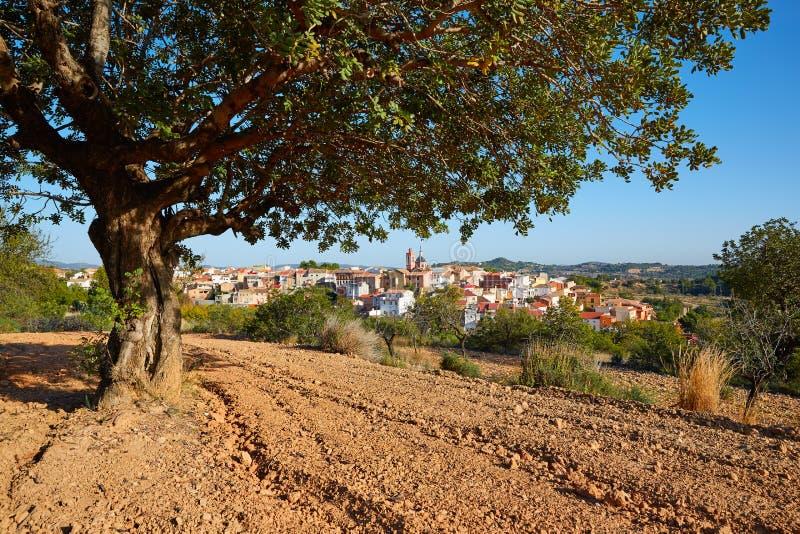 Villaggio di Losa del Obispo a Valencia spagna immagini stock