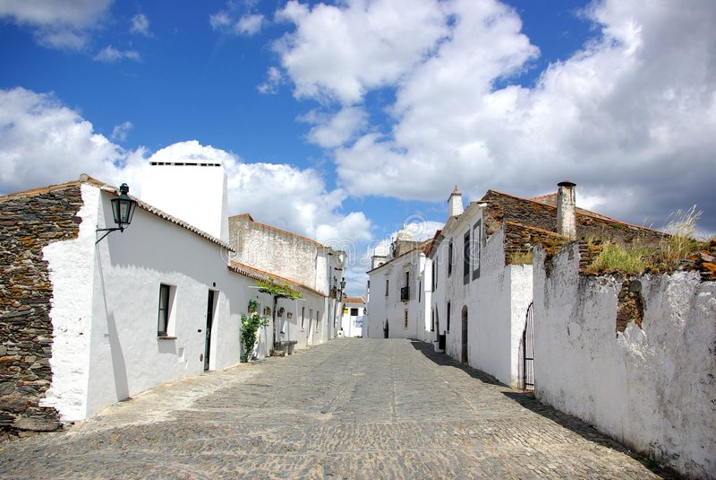 Villaggio di Monsaraz fotografie stock