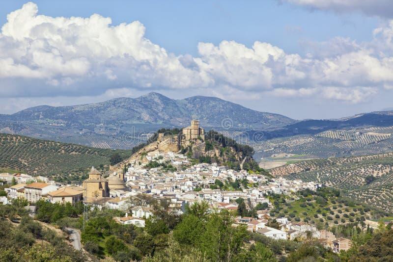 Villaggio di Montefrio, Granada, Spagna immagini stock libere da diritti